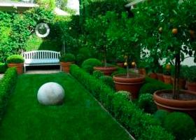 Благоустройство и озеленение объектов
